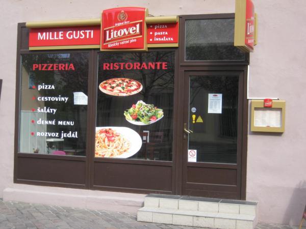 MILLE GUSTI pizzeria, ristorante
