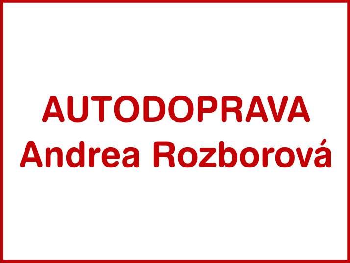 AUTODOPRAVA Andrea Rozborová