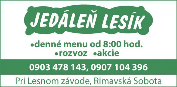 Jedáleň Lesik